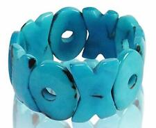 Tagua AQUA Bracelet - Hugs and Kisses - Organic, Fair Trade