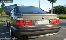 BMW E34 5 series saloon Boot Trunk Spoiler Lip Wing Trim Lid M5 M tech M 5 4D