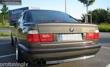 BMW E34 Série 5 Saloon Boot trunk spoiler lèvre aile garniture couvercle M5 M Tech M 5 4D