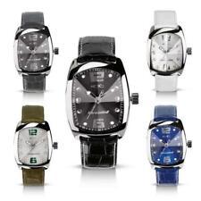 Chronotech Rw0006 Mens Wrist Band Watch Black Prismaglas