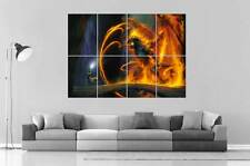 BALROG GANDALF BATTLE 2 LORD OF THE RINGS SEIGNEURS DE ANNEAUX Poster format A0
