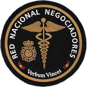 POLICIA NACIONAL CNP RED NACIONAL NEGOCIADORES PARCHE INSIGNIA EMBLEMA EB01380