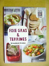 Livre Foie gras et terrines 50 recettes  /B8