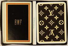 """Louis Vuitton Twin Deck of 'BWF' Playing Cards"" From Hobe Sound Estate"