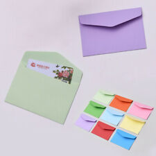 10×Small Paper Envelope Greeting Card Postcard Wedding Party Invitation 11.5x8cm
