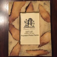 """PICTURE FRAME LEAVES NATURE 3.5 x 5"""" FREE SHIPPING"""
