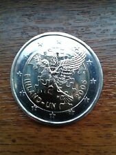 "pièce neuve finlande 2 euros 2005 ""60 ans onu"""