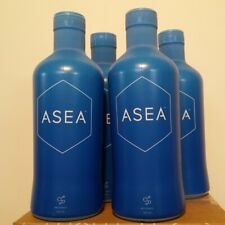 Asea water redox signaling molecules to promote healing, 4 X 960ml Exp:02/2021