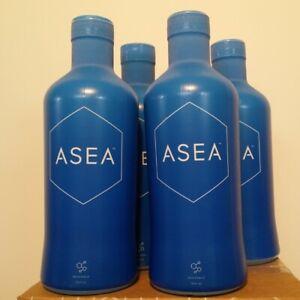 Asea water redox signaling molecules to promote healing, 4 X 960ml Exp:02/2021