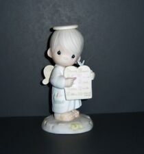 "Precious Moments ""The Greatest Of These Is Love"" Figurine, Bow & Arrow marked"
