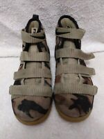 Nike Lebron Soldier IX 11 Camo High Top Shoes Size 2.5 Youth