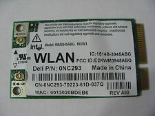 INTEL 3945 ABG WIFI WIRELESS CARD DELL P/N NC293 D620 D820 D630 D830 M1710 M1730