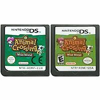 Animal Crossing: Wild World Nintendo DS Game Card NDS Lite DSi 2DS 3DS XL a