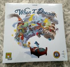 When I Dream Party Game Board Game Drawlab Entertainment Repos Production NEW