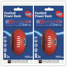 I Phone Portable Power Supplier Rechargeable Charger Sherrin Geelong x 2-travel