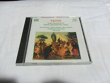 VIOTTI Violin Concerto no.23 Sinfonie Concertanti nos. 1 e 2 CD Musicale