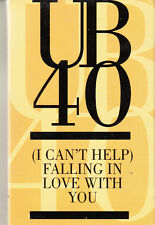 """K 7 AUDIO 2 T (TAPE)  UB 40 """"FALLING IN LOVE WITH YOU"""""""