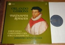 Savall/Coin/Casademunt/Sonnleitner GIBBONS Fantaisies Royales - Astree AS 43