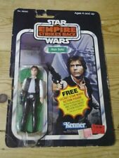 Vintage Star Wars Han Solo Carded 21bk