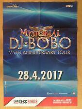 DJ BOBO 2017 KÖLN   - orig.Concert Poster - Konzert Plakat  - FOLDET - NEW