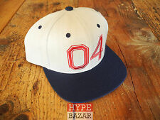FOURSTAR 04 SNAPBACK CAP NEU FARBE:CREAM-BLUE 4 STAR CLOTHING CO GUY MARIANO