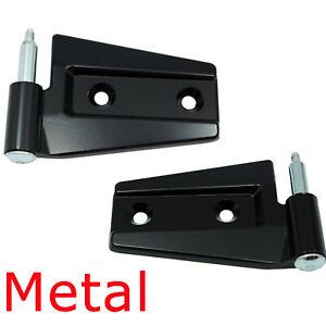 For 2007-2017 Jeep Wrangler Black Smooth DS539 Right & Left Door Hinge Assembly