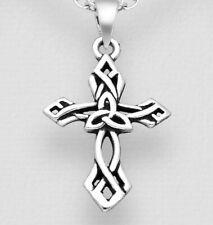 925 Sterling Silver Small Celtic Cross Pendant