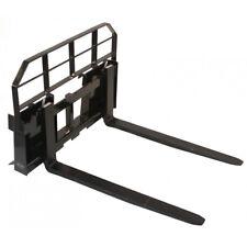 Titan Attachments Skid Steer Pallet Fork Attachment 60 5500 Lb Quick Tach