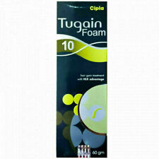 Tugain 10% foam Hair Loss Baldness Regrowth For Men By Cipla 60 Gm