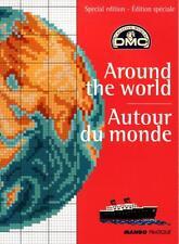 Carnet Mango POINT CROIX 400 motifs Autour du monde DMC