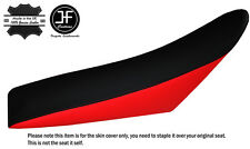 RED & BLACK CUSTOM FITS HUSABERG FE450E 02-08 DUAL LEATHER SEAT COVER