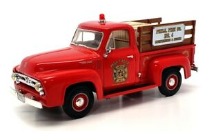 First Gear 1/34 Scale 18-1585 - 1953 Ford F100 Pick Up - Phili Fire Co. #4