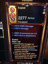 DIABLO 3 PATCH 2.6.1 NEW HIGHEST PRIMAL EXP POWER LEVEL 47000 EXP PER KILL PS4