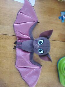 "Hotel Transylvania 3 Mavis Bat Plush Wings 18""  Purple Black Stuffed Animal"