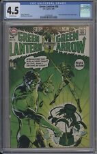 Green Lantern 76 CGC 4.5 Green Lantern/Green Arrow Begins Neal Adams