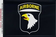 "101st Airborne Sticker 3.5""x5.0"" Decal US Army Flag Vinyl - Made in USA"