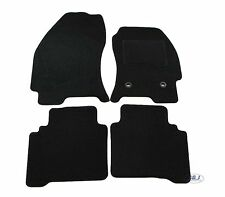Quality FULLY TAILORED Black floor Car Mats fits to FORD MONDEO mk3 01- 07 4pcs