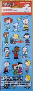 Peanuts Stickers  Charlie Brown Snoopy 4 Sheets New Sealed Free Ship Sale!!!!!!!