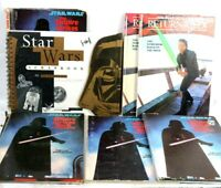 Lot 7 VINTAGE Star Wars Hardcover Storybooks 1978-1983 Random House + Scrapbook