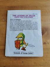 Carte / Map Zelda Nintendo Nes