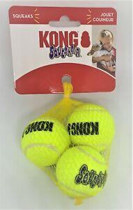 Kong Squeaker Balls Small - 3 Pack