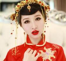 Chinese Style Ancient Handmade Hair Accessories Wedding Bridal Pageant Jewelry
