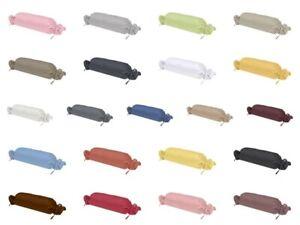 Kissenhülle für Nackenrolle 15 x 40 cm Gruber Bettwäsche  Nackenrollenbezug