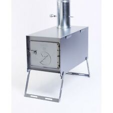 Kni-Co Alaskan JR  Wood Burning Camp Stove STANDARD PACKAGE