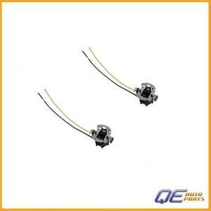 Mercedes E300 E320 E420 E430 E55 Set of 2 Genuine Headlight Wiring Harnesses New