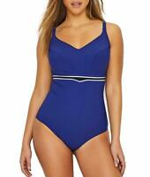 Chantelle ABYSS Horizon Full Cup Underwire One-Piece Swimsuit, US 34DDD, UK 34E