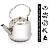 Teekanne Petromax Edelstahl Teekessel Camping Wasserkessel Wasserkocher tk1 1,5L
