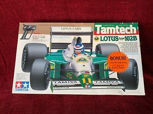 Vintage Tamiya TAMTECH 1/14 Scale Lotus Type 102B RC Race Car