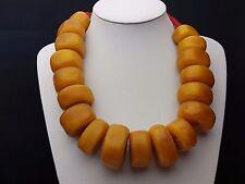 L. k. bodas joyas/African Amber phenolic arte resina perlas