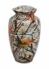 Adult Cremation Urn in Camo for the Outdoorsman